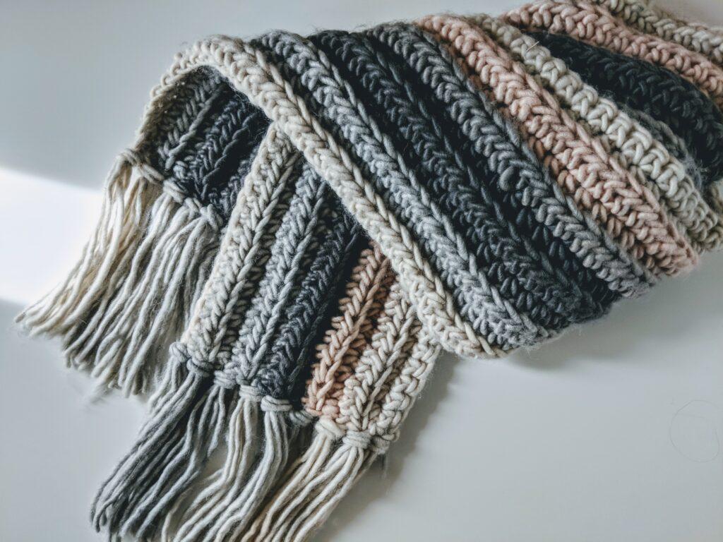 Beginner Crochet Scarf Free Pattern Jewels And Jones