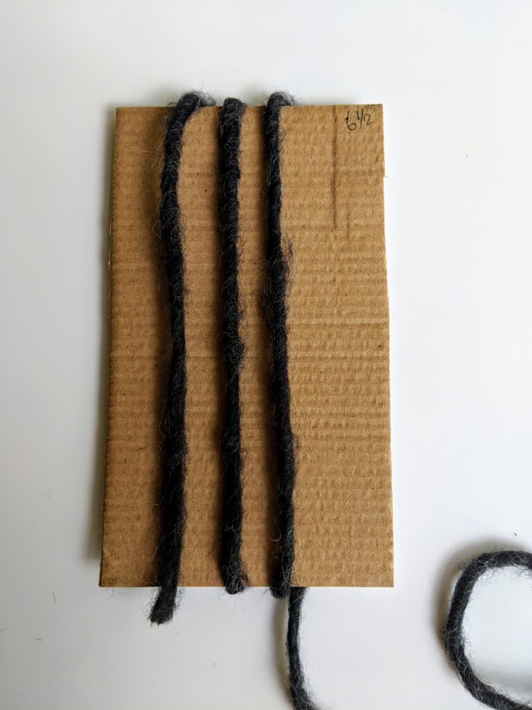 Crochet scarf tassels