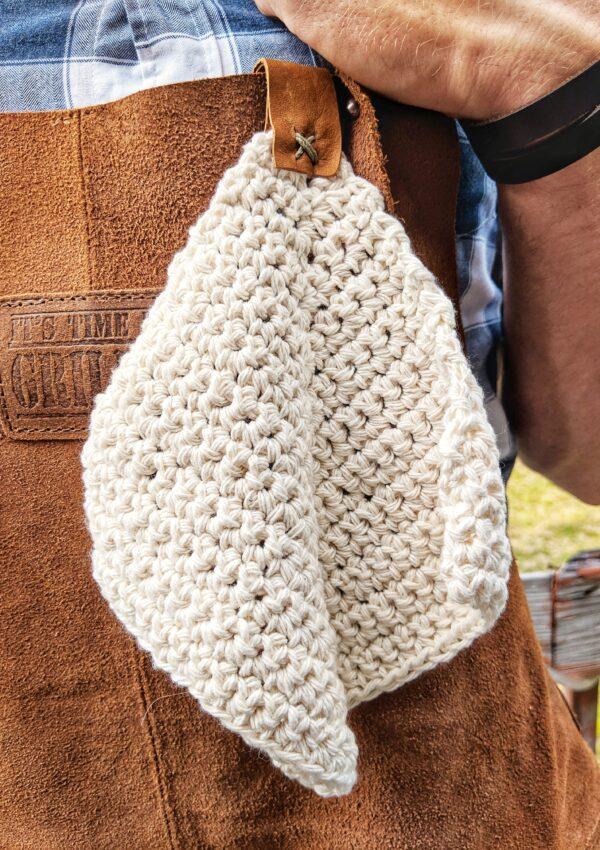 Mitered Crochet Washcloth – Free Pattern