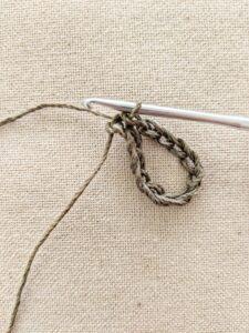 slip stitch, crochet anklet, crochet sandals