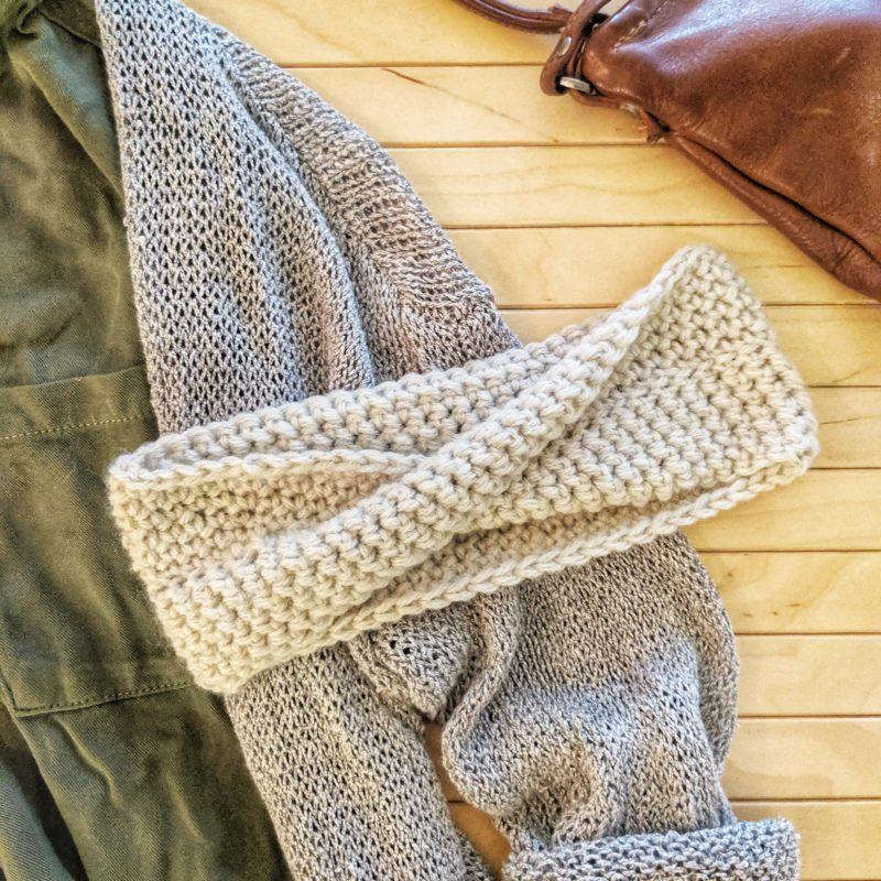 Twisted Crochet Headband – FREE PATTERN