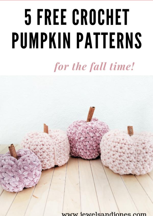 5 Best Free Crochet Pumpkin Patterns