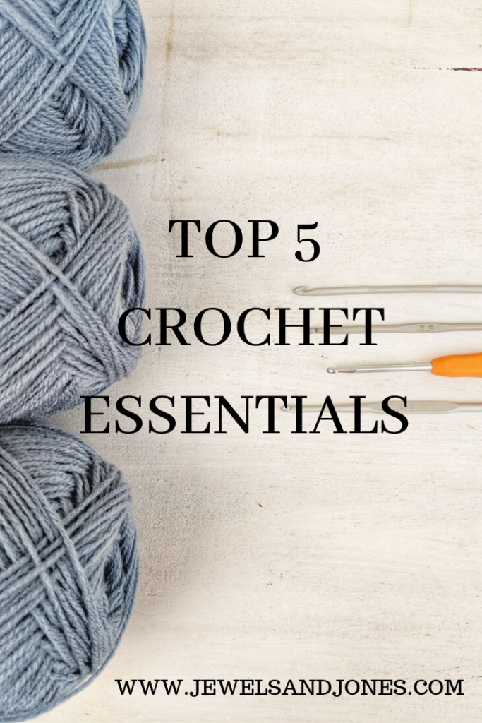 Top 5 crochet essentials that every crocheter needs in their life.