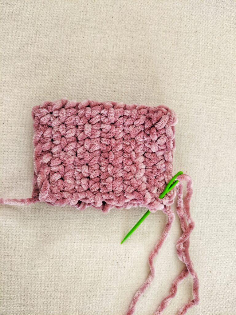 Part 2 of creating the crochet pumpkins