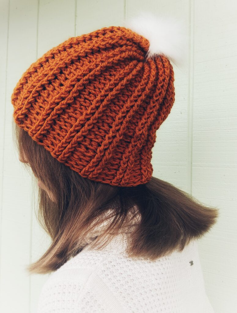 Simple and easy crochet beanie pattern