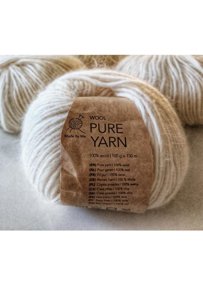 wool natural fiber yarn