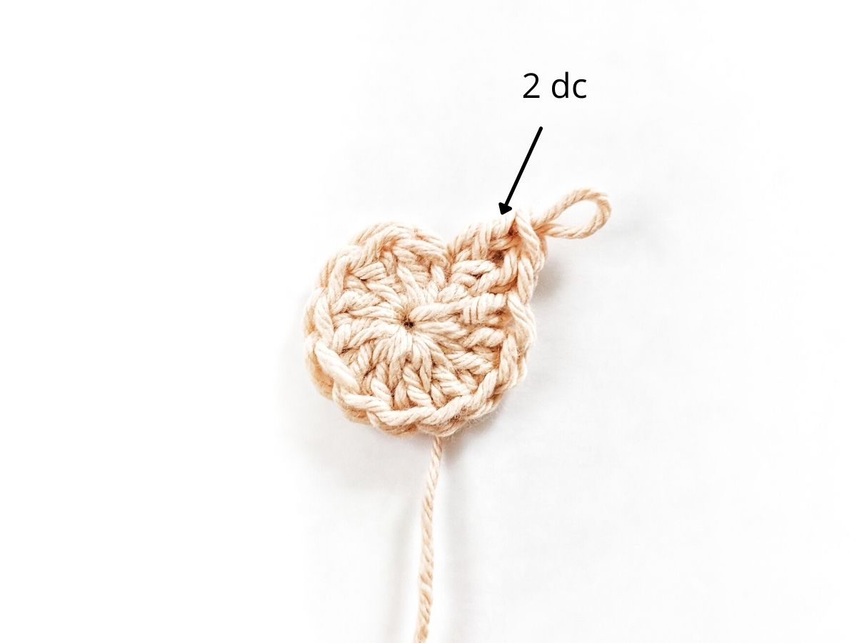 how to make a round crochet coaster part 1