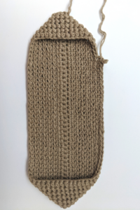 step 1 crochet potholder