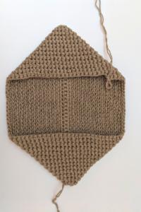 step 2 crochet potholder