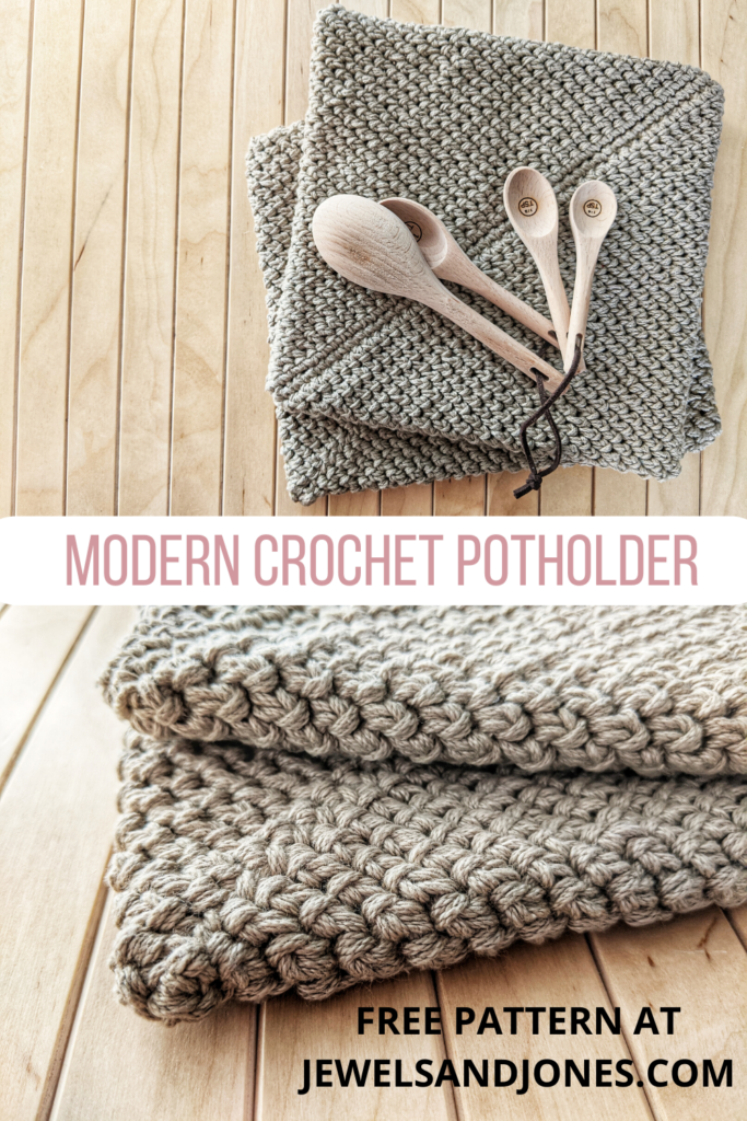 crochet thick potholder