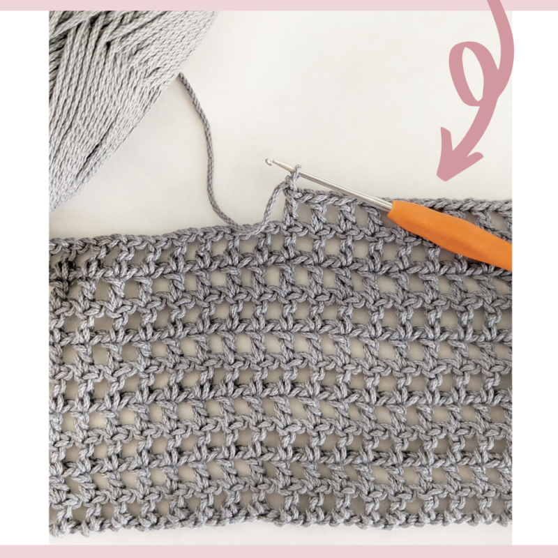 How To Crochet A Mesh Stitch