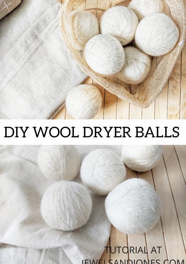 How to Make Your Own Dryer Balls – Free Tutorial