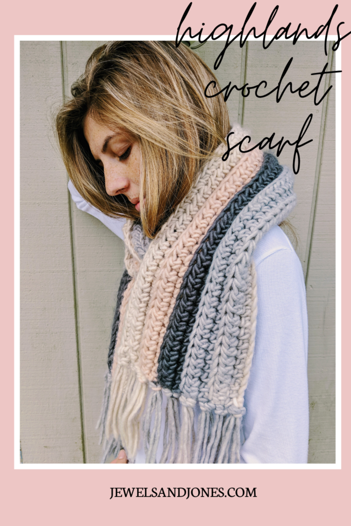 beginner crochet scarf patter the highland crochet ribbed scarf
