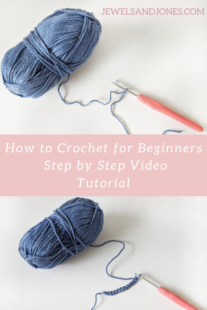 learn how to crochet using this beginner video tutorial
