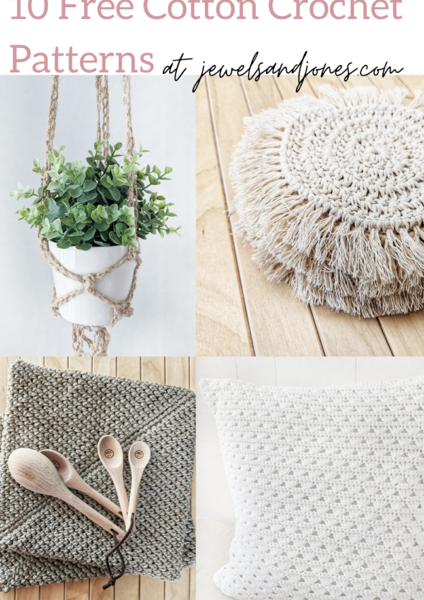 10 free cotton crochet patterns