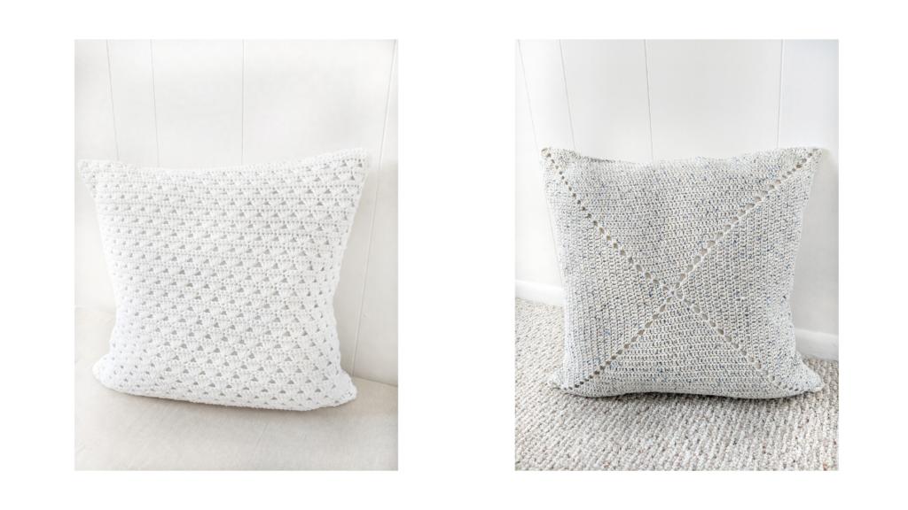 crochet cotton pillow free patterns