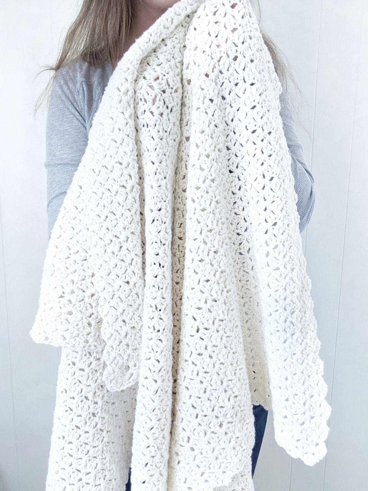 beginner crochet blanket pattern