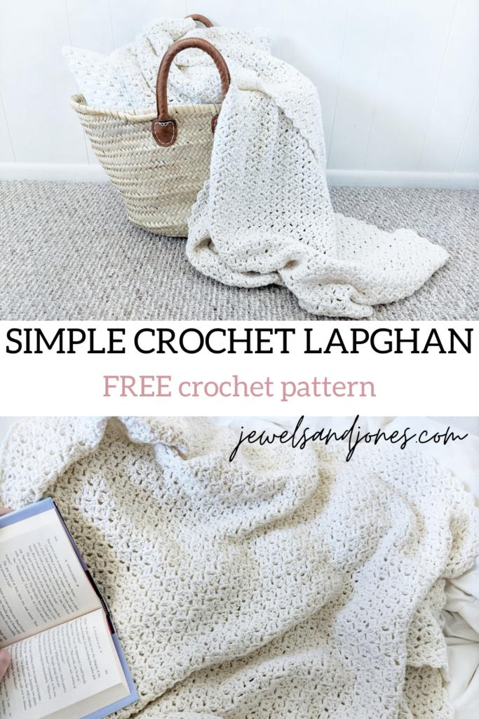 a simple crochet blanket pattern, free crochet pattern