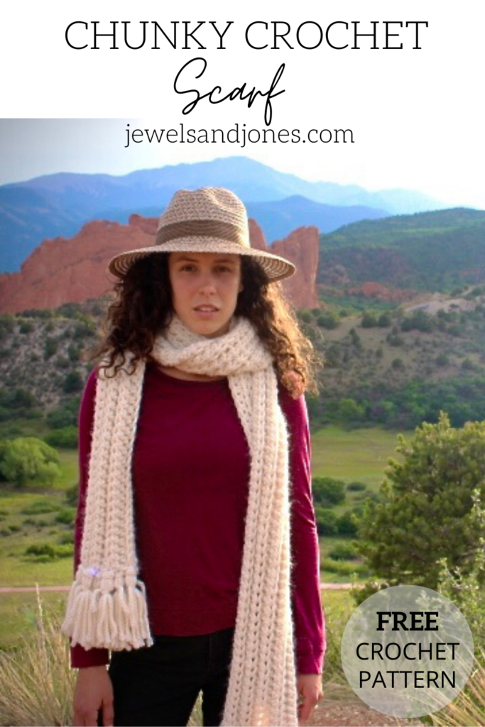 how to style the lexi scarf, free crochet scarf pattern
