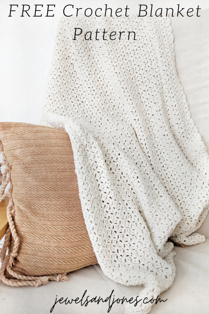 easy crochet blanket, free crochet blanket pattern