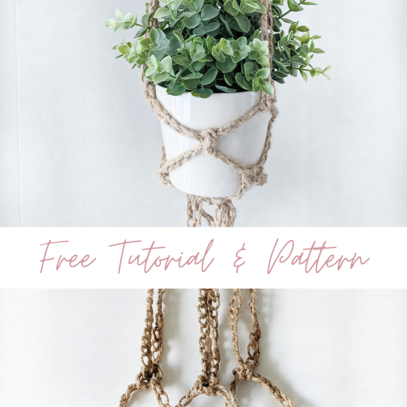 Crochet Plant Hangers – Free Tutorial and Pattern