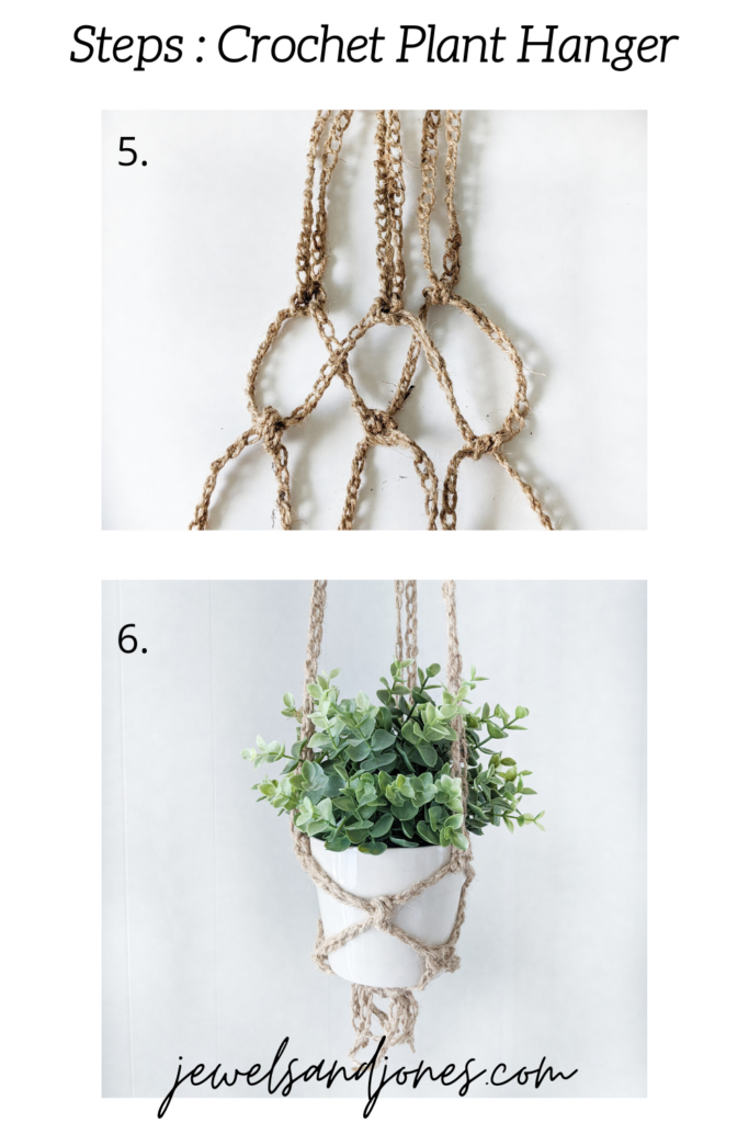 step 3 to plant hanger