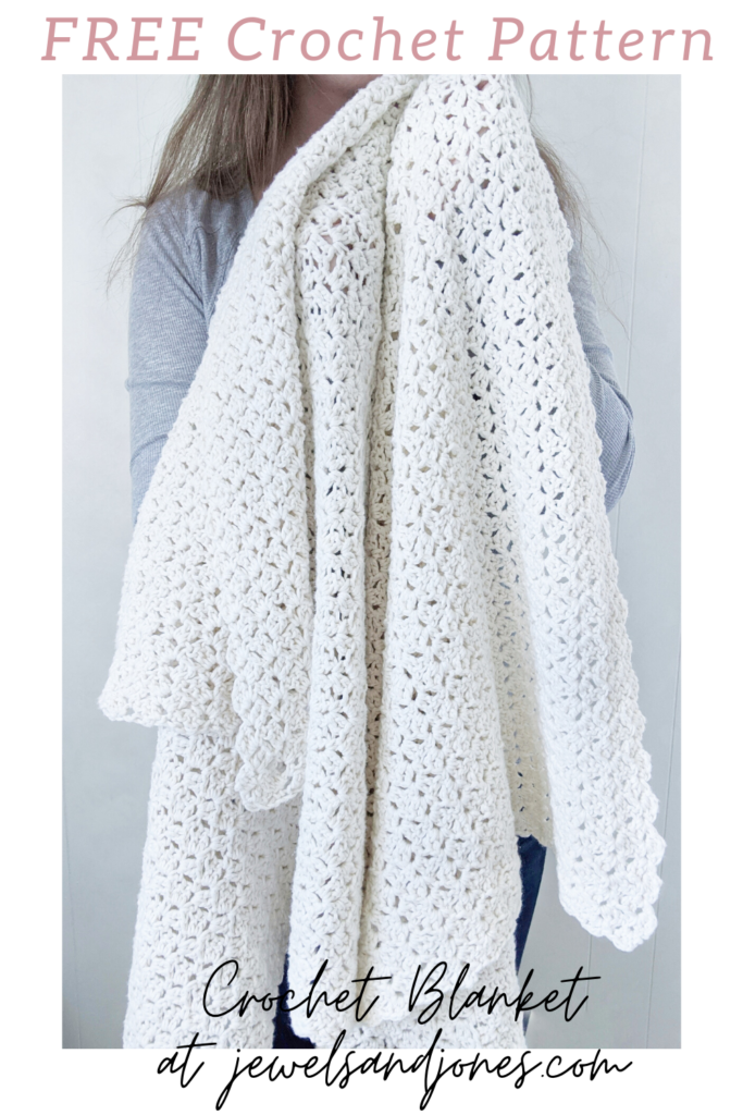 simple free crochet throw, crochet lapghan