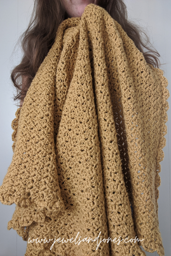 cozy cotton crochet throw a free pattern