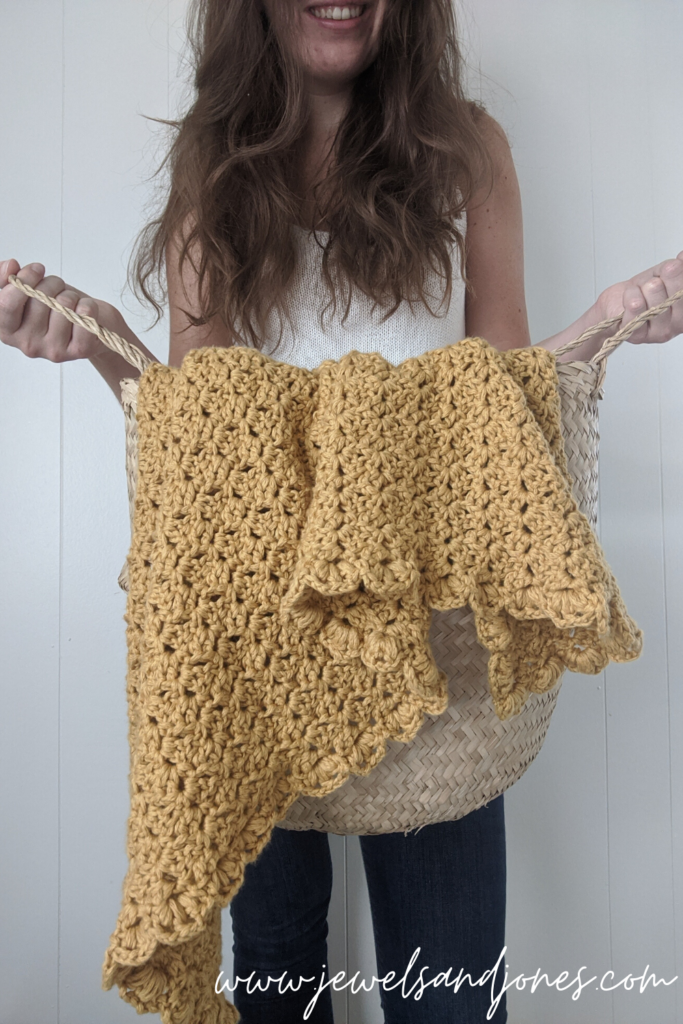 easy crochet throw free pattern
