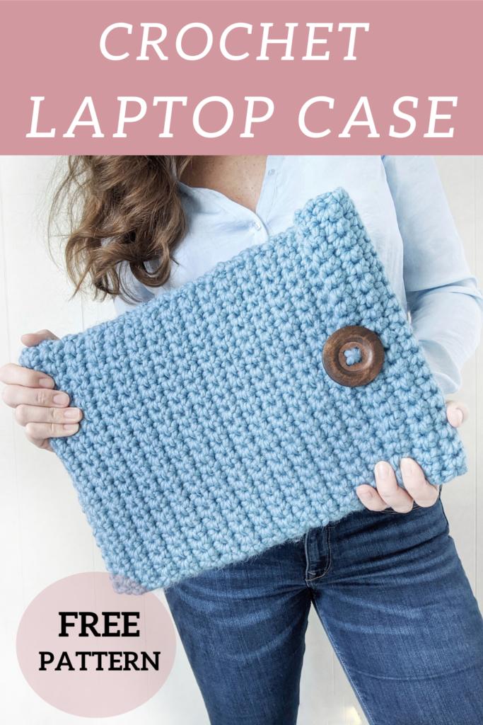 free laptop case pattern crochet at jewelsandjones