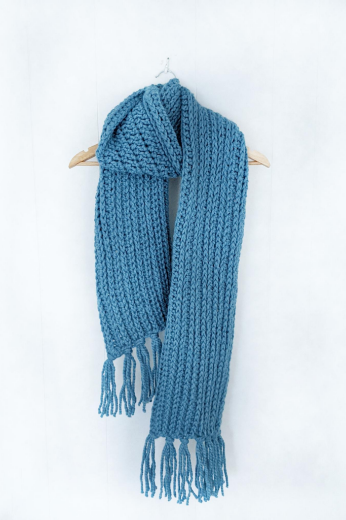 mammoth crochet scarf by jewels and jones