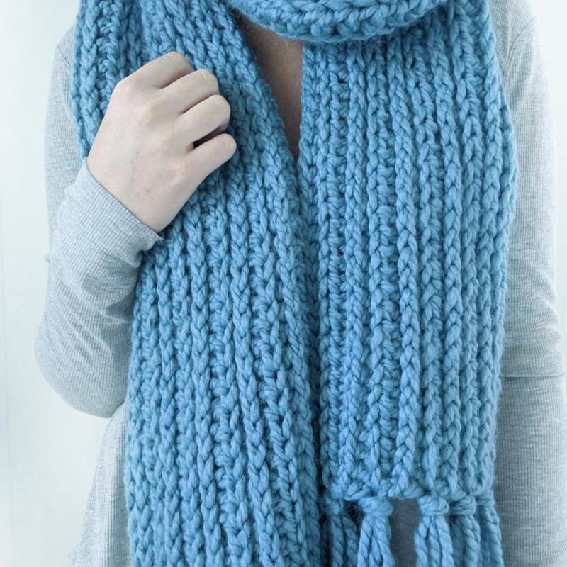 The Mammoth Scarf – Free Crochet Pattern