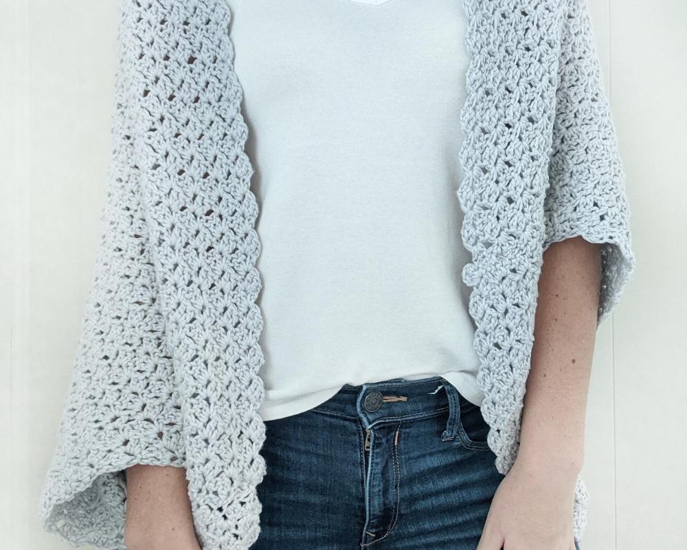 the blanket shrug crochet pattern