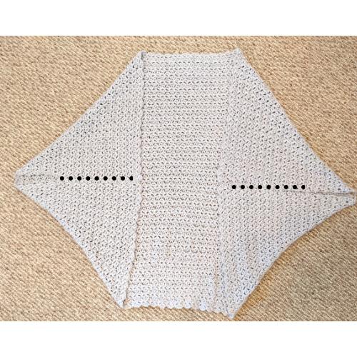 blanket shrug crochet pattern seaming part 2