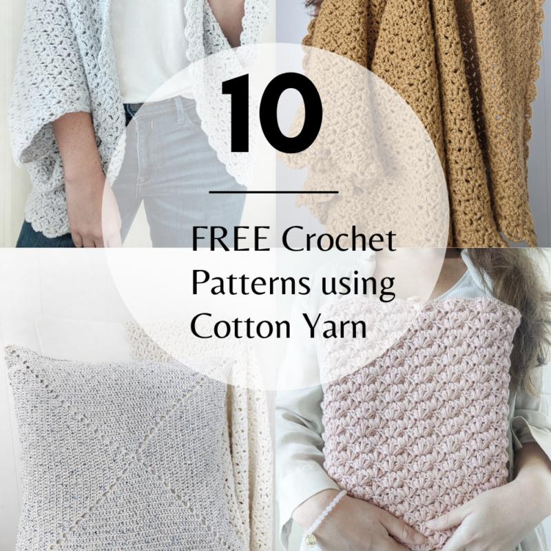 10 Best Crochet Cotton Yarn Patterns for Free
