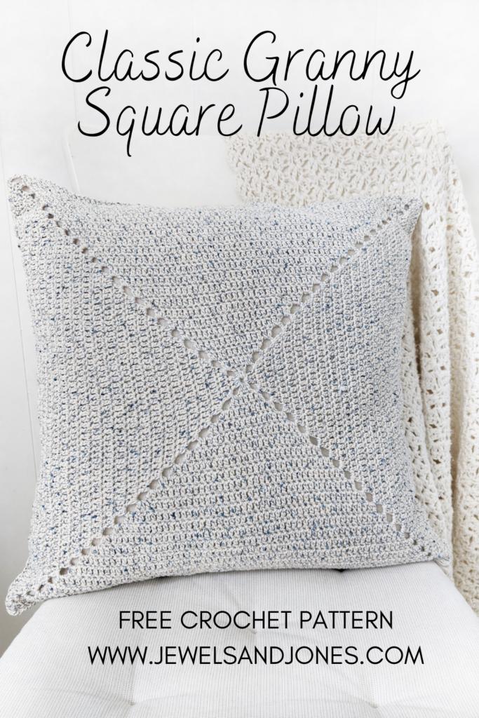 classic granny square pinnable free crochet pattern