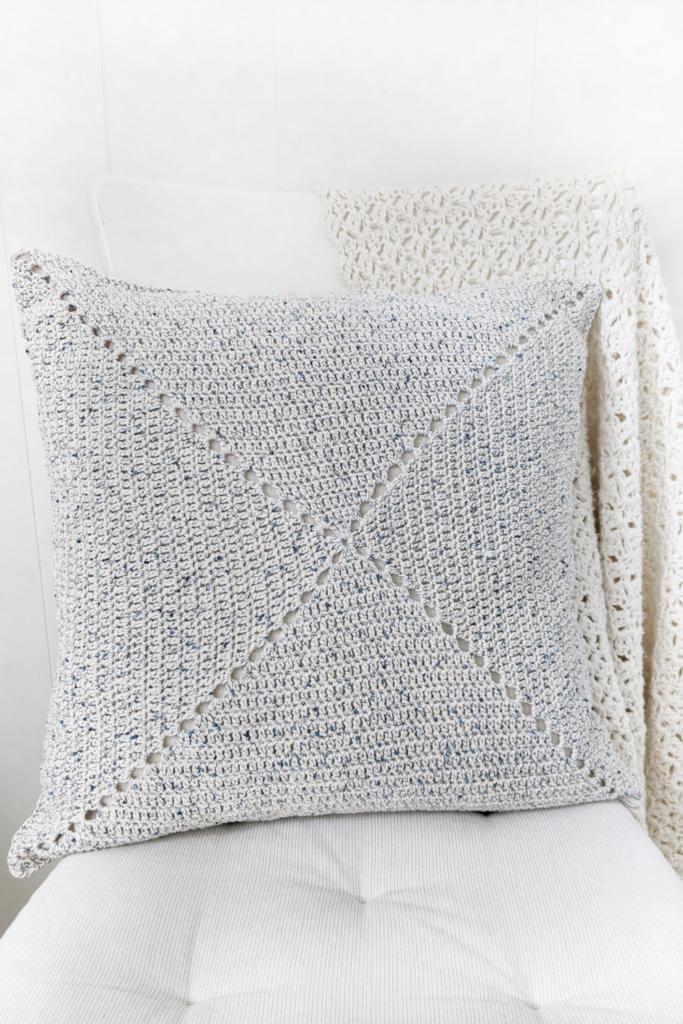 the classic granny square pillow crochet pattern