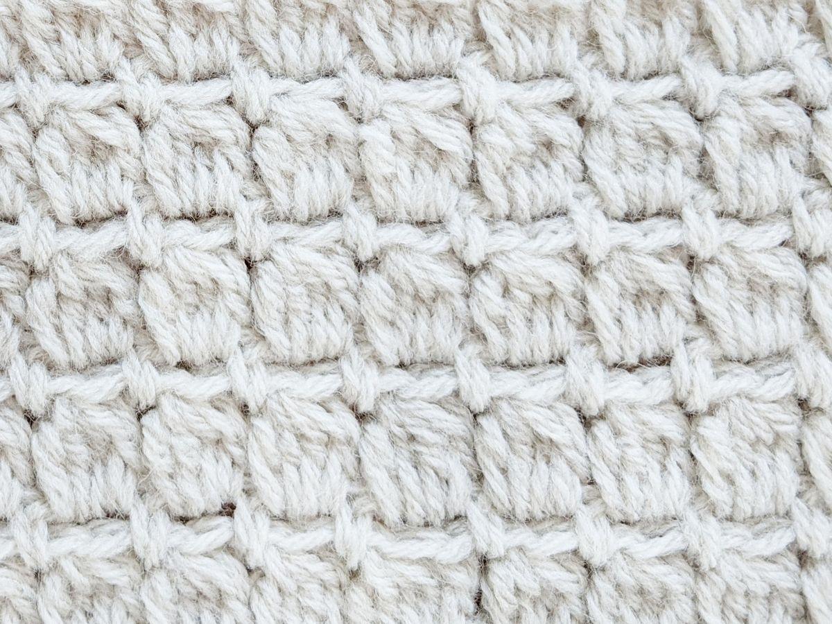 crochet cluster stitches