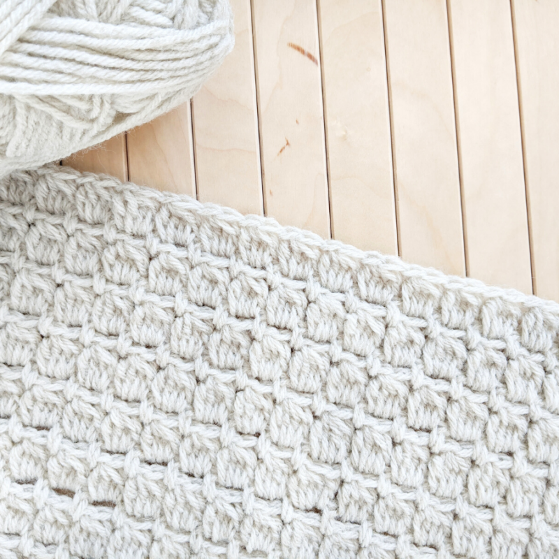 How to Crochet the Cluster Stitch – Free Tutorial