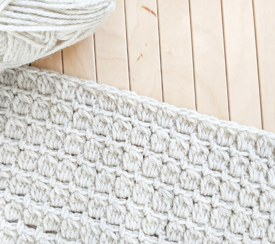 How to Crochet a Cluster Stitch Tutorial