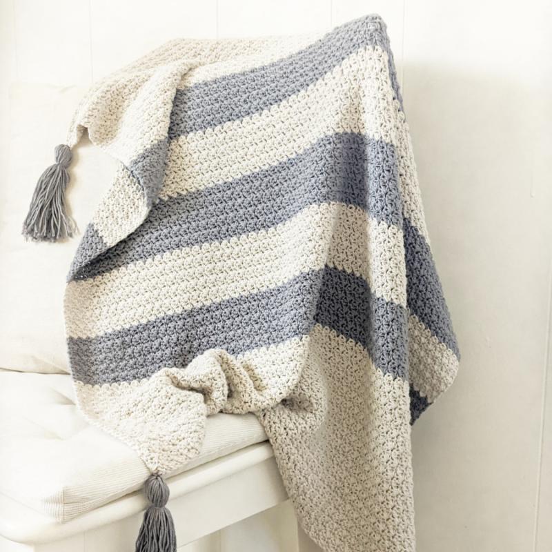 Eta Crochet Baby Blanket – Free Pattern