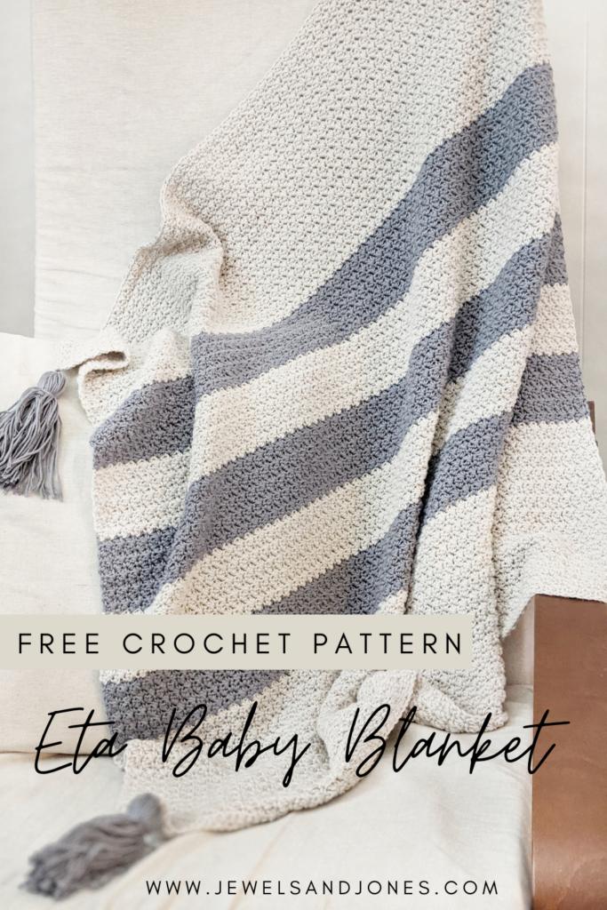 Eta Crochet Baby Blanket Pattern,free crochet pattern