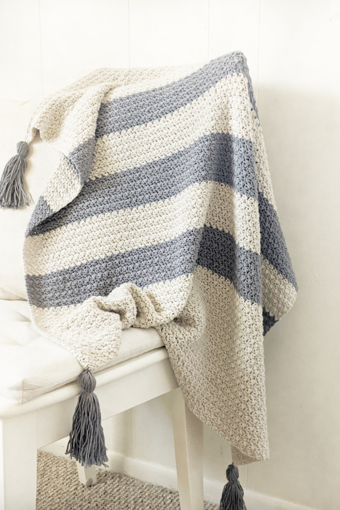 crochet baby blanket, free crochet pattern