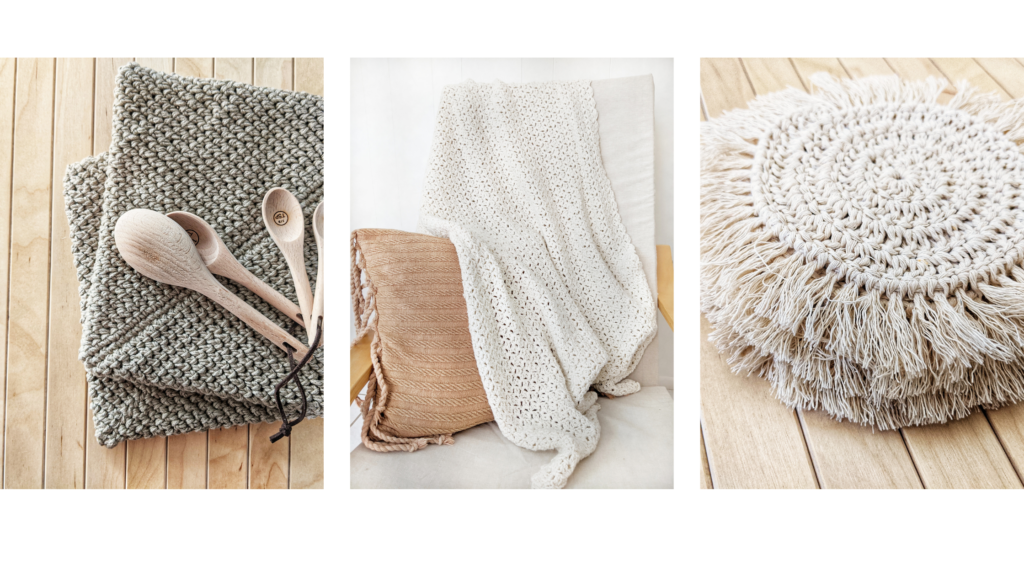 free crochet home decor patterns