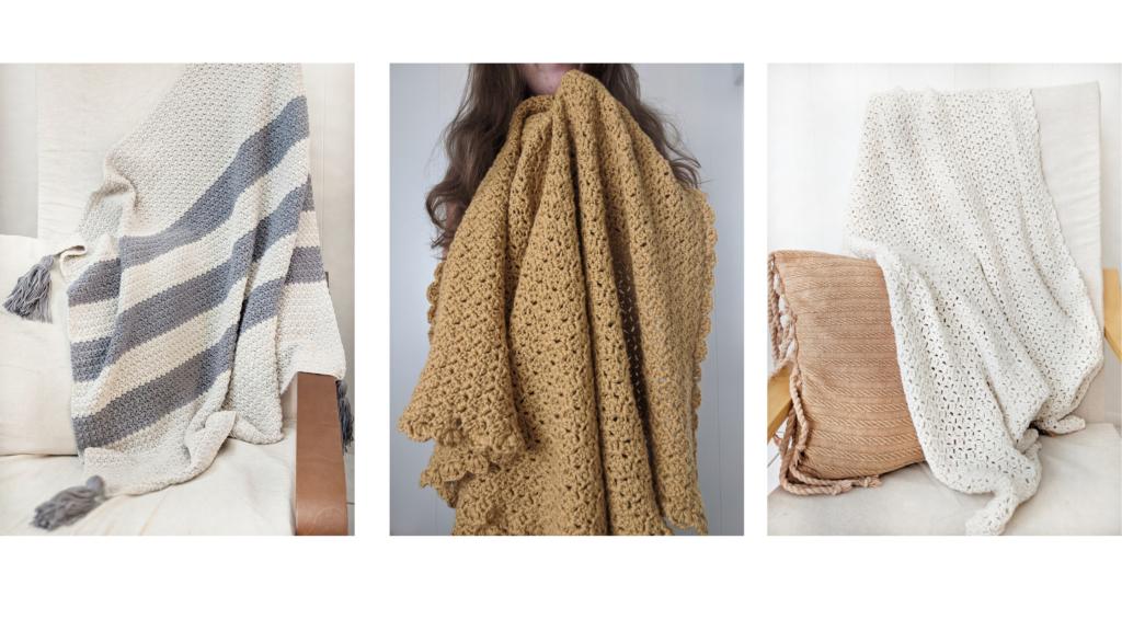 Free crochet pattern throws