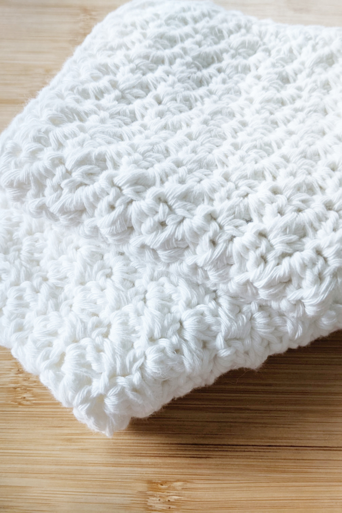crochet washcloth free pattern photo1