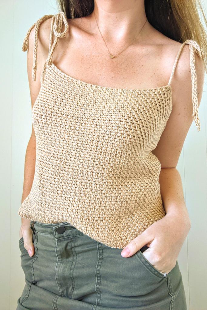 Summer Crochet Shirt