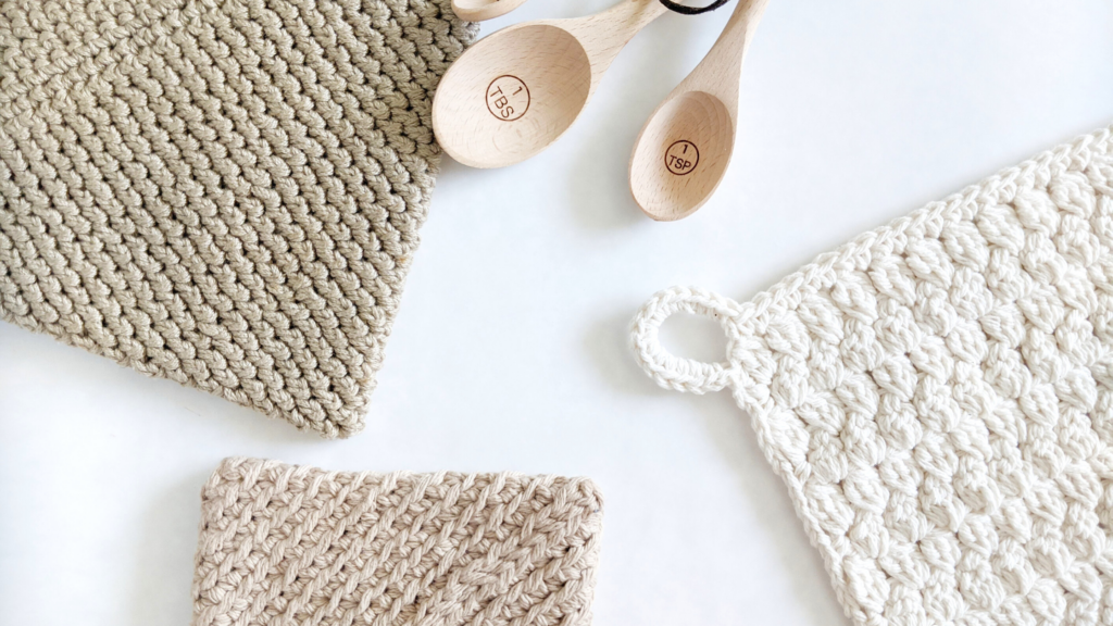 cotton and bamboo home decor free crochet patterns