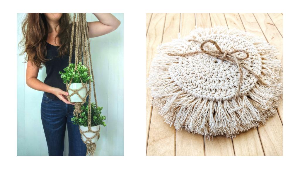 crochet cotton coaster pattern