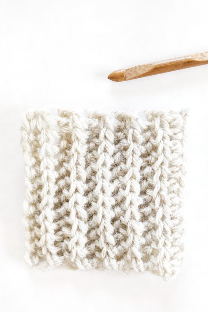 slip stitch, half double crochet border